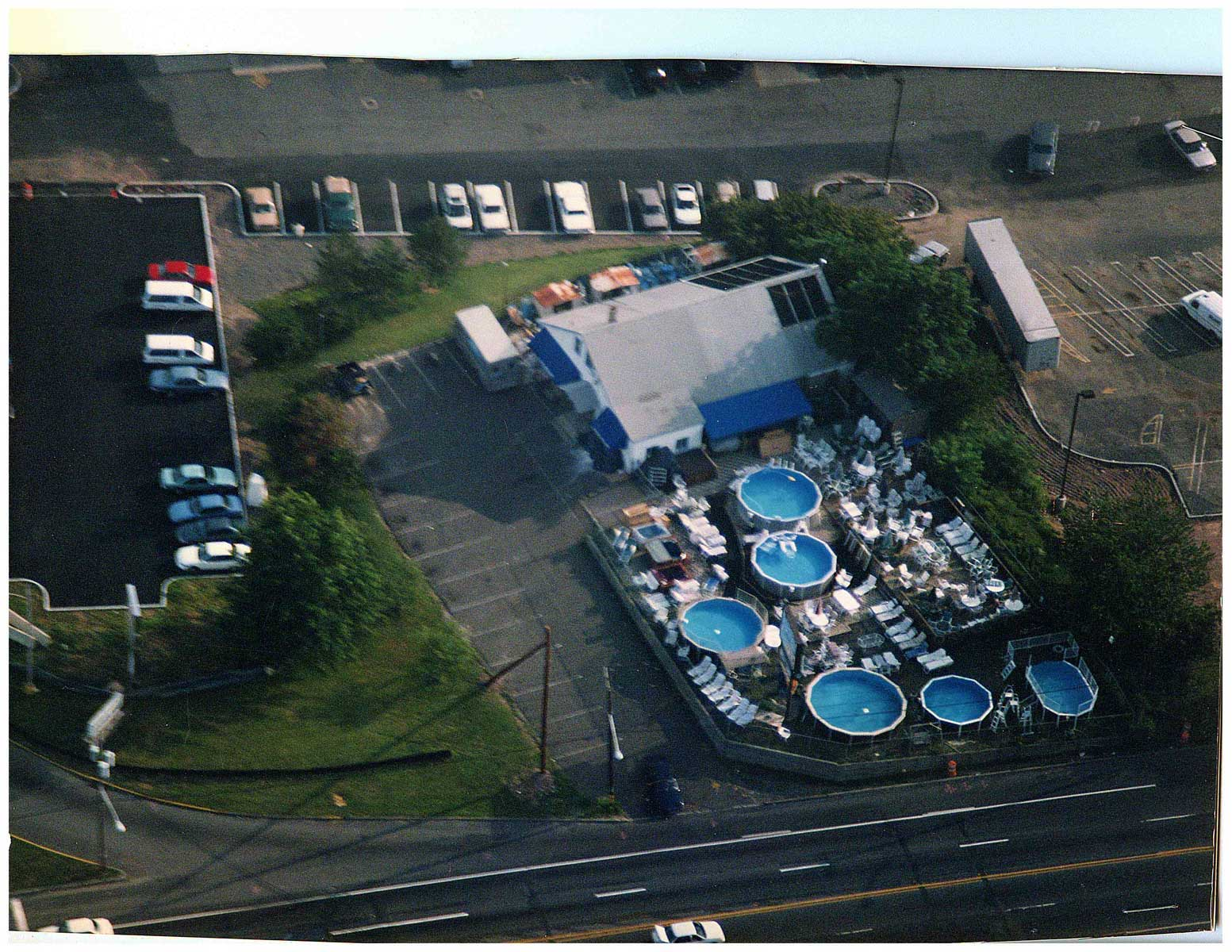 """Westrock Pools mid 1980's"" One of the first stores on Route 59. The Nanuet Mall and Sears Roebuck was built around us!"