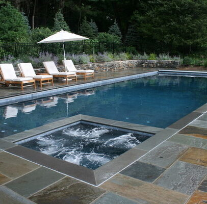 Swimming Pools With Attached Spas - Westrock Pool & Spa in Rockland County, NY