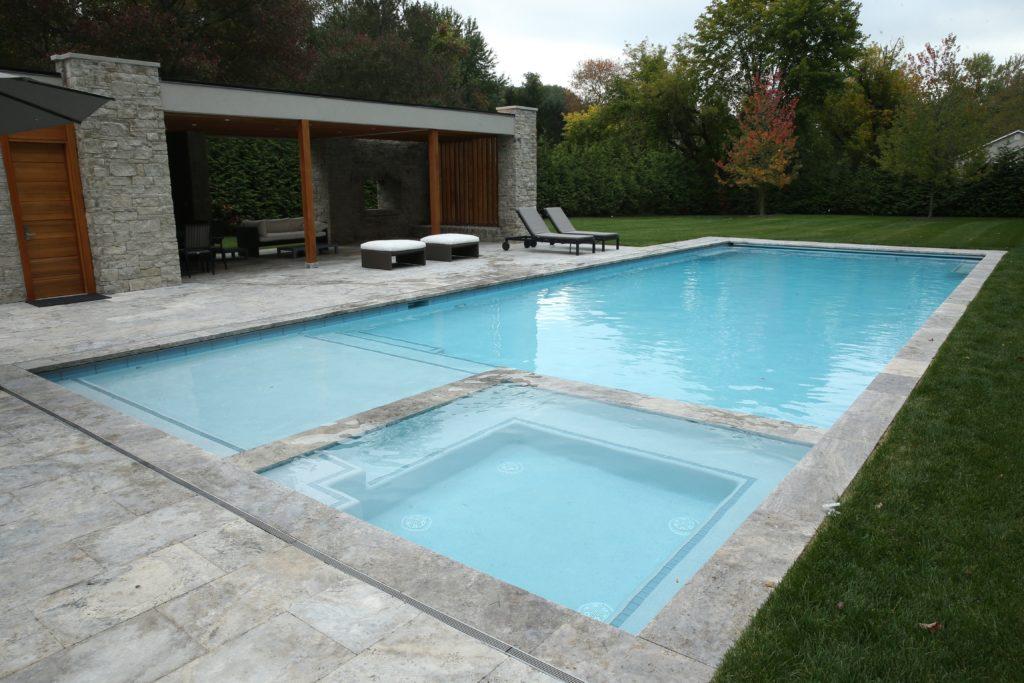 Gunite Rectangular Pools Westrock Pools