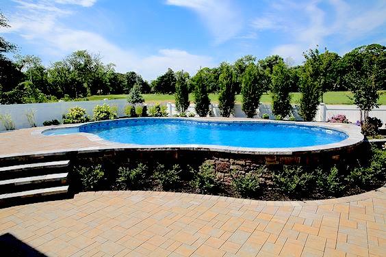Semi Inground Pools Westrock Pools
